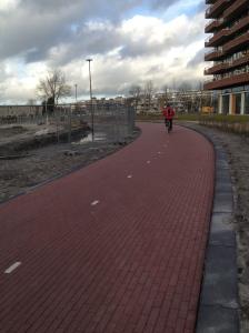 Een fietspad naar nergens
