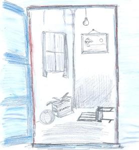 De kamer andersom