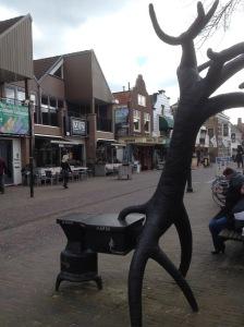 Kunst in Zoetermeer, turfkachel
