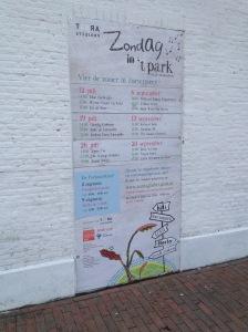 Kunst in Zoetermeer, terra arts projects, Zondag in 't Park