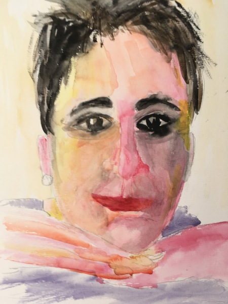 Zelfportret Karien Damen
