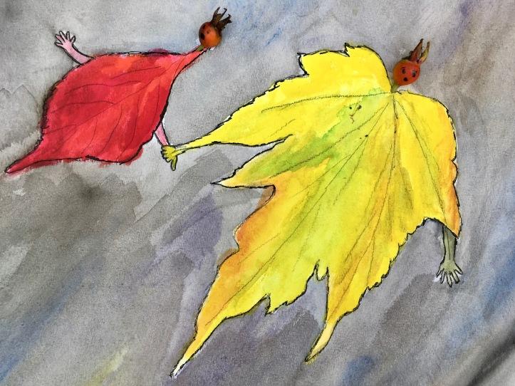 Karien Damen, gekeurde gedachten, herfst